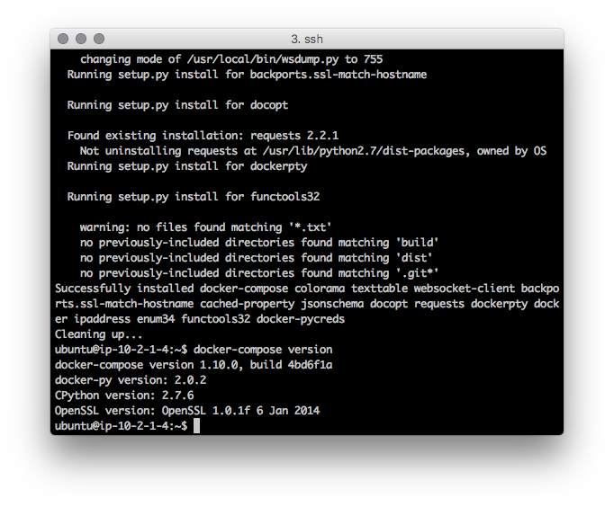 Docker compose 버전